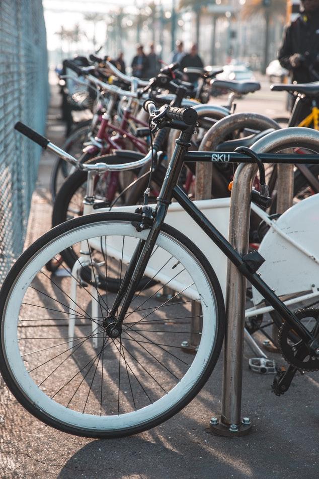 bikes in a bar